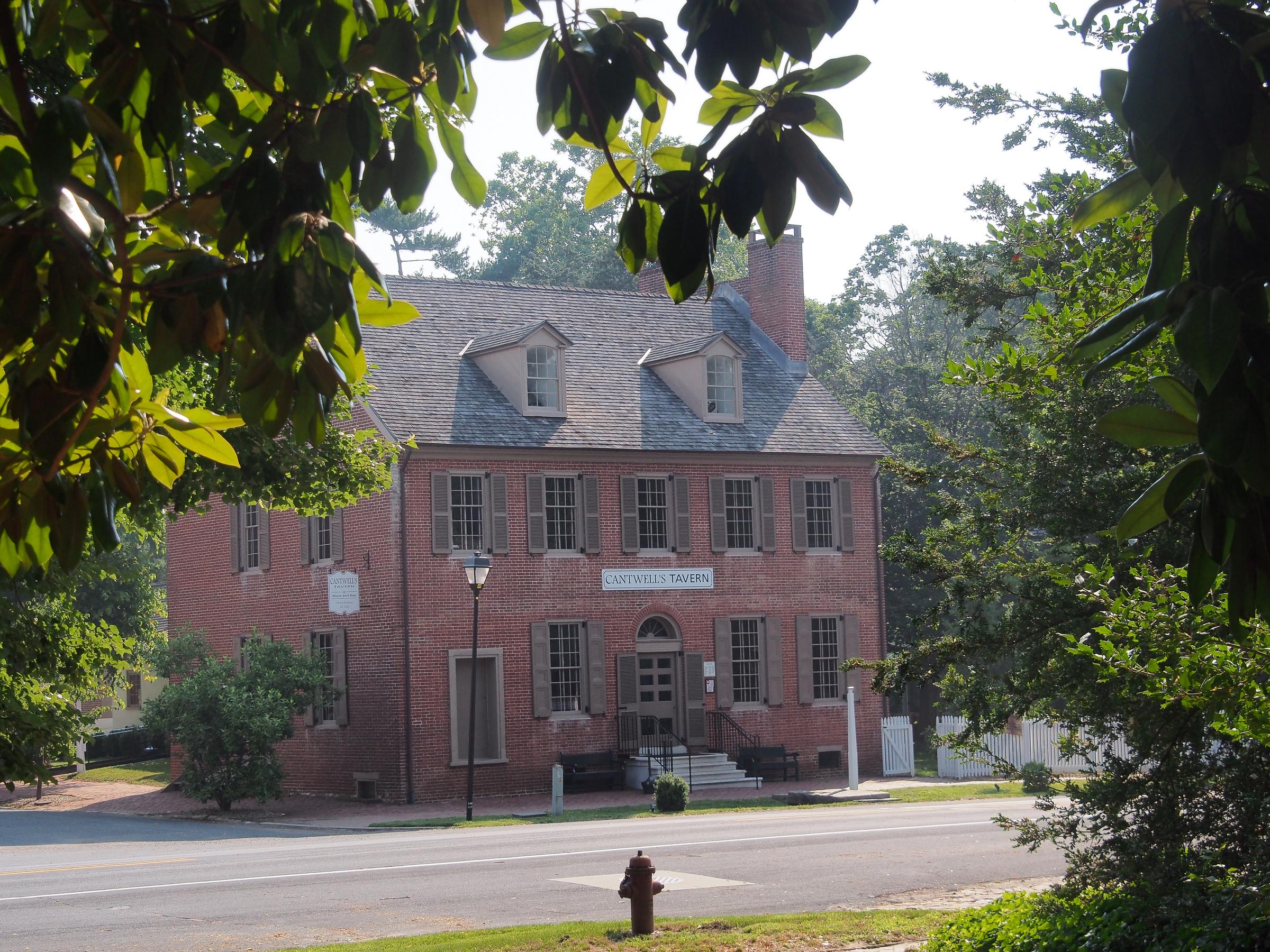 Cantwell's Tavern, Odessa, Delaware