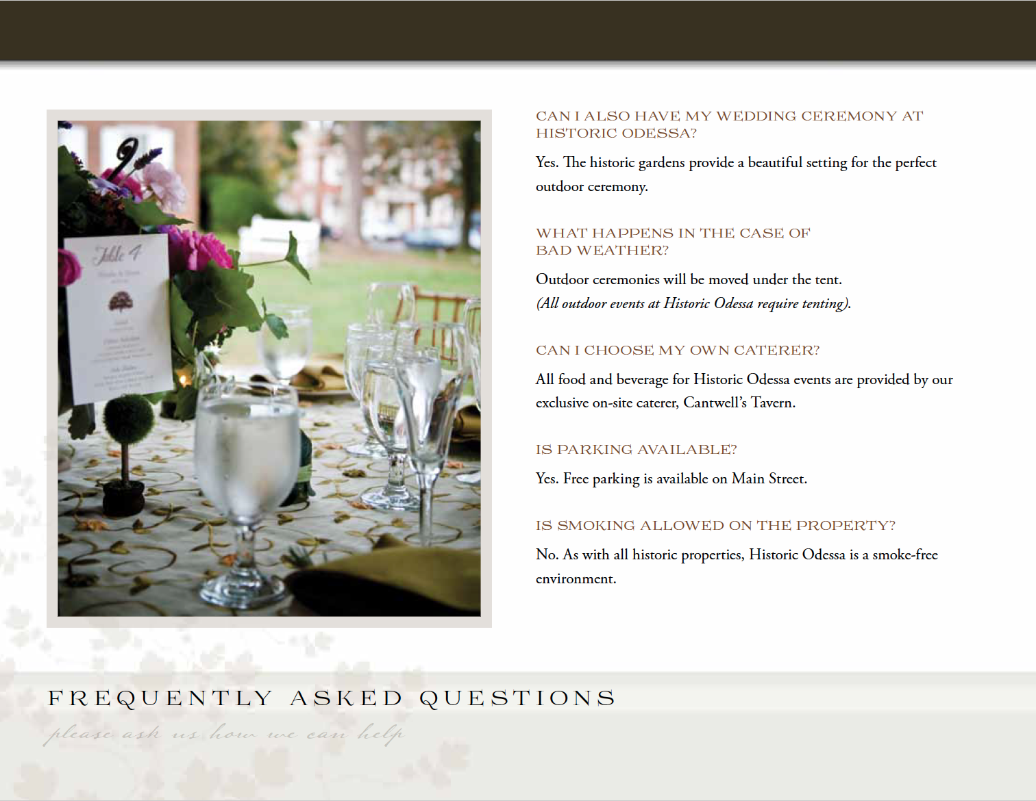 Odessa wedding agencies: a selection of sites
