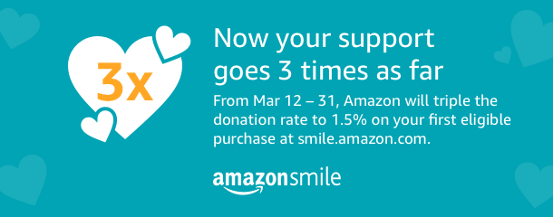 Support HOF with AmazonSmile