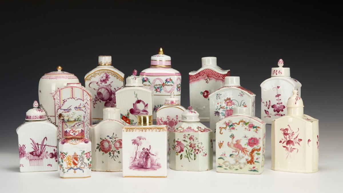 Tea Caddies from The Bramble Collection