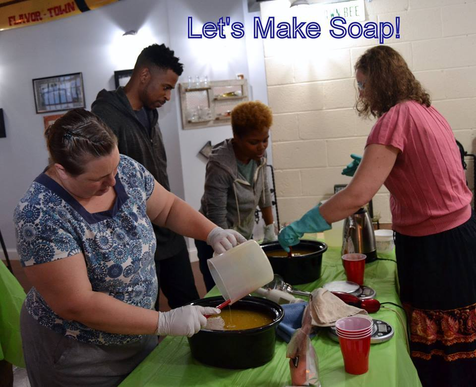 Workshop: Intro to Soap Making: Spring Herbs | Historic Odessa