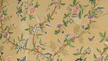 Hand-Painted Wallpaper Corbit-Sharp House