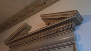 Cornice with Mutule Blocks