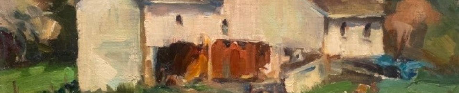 Jacalyn Beam farmhouse painting