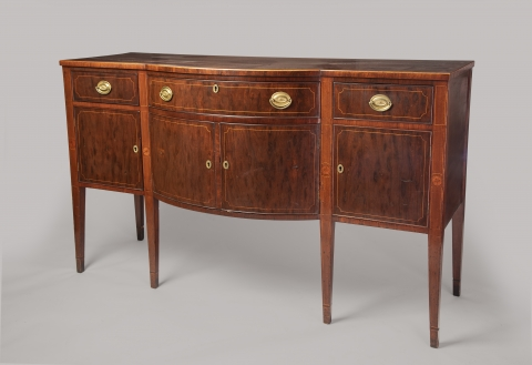 Sideboard - front view - six legs