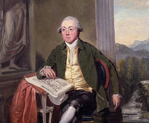 Painting of James Craig by David Allan