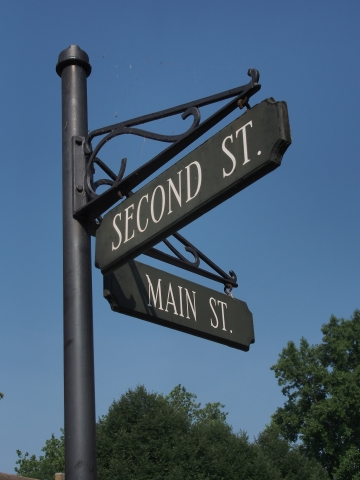 Second and Main Street, Odessa, Delaware