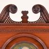 Duncan Beard Tall Clock Top Scrolls