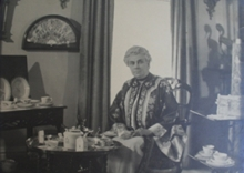 Photograph of Mary Cowgill Corbit Warner