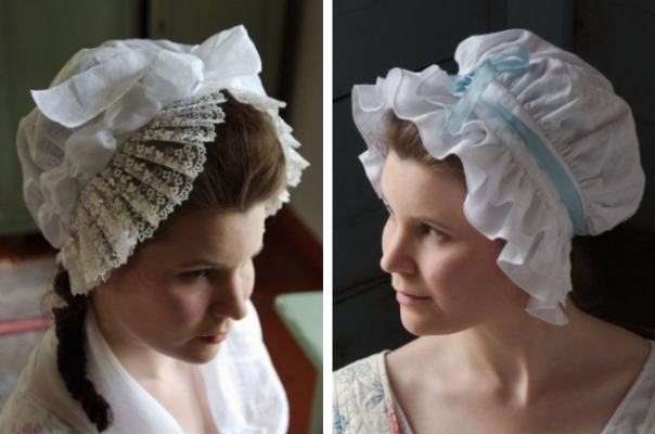 Ladies 18th Century Caps