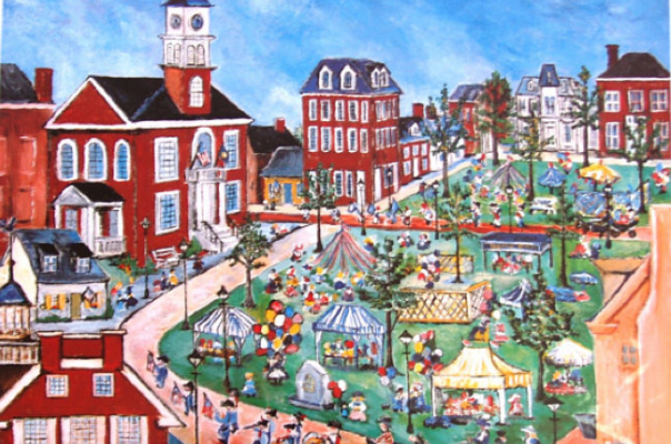 A Tapestry of Relationships: Collecting Delaware Art