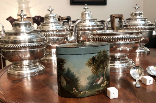 The Bramble Collection, 18 & 19 century tea caddies
