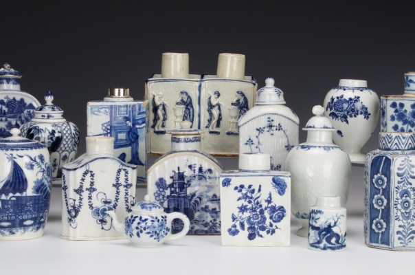 A History of Tea Caddies from the Bramble Collection