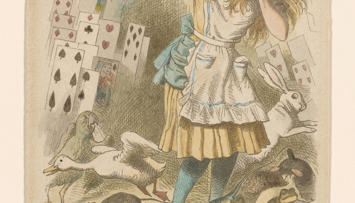 "Alice in Wonderland: ""Nothing But a Pack of Cards"""