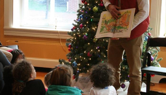 By Reservation: Storybook Time (pre-K and Kindergarten) 11am