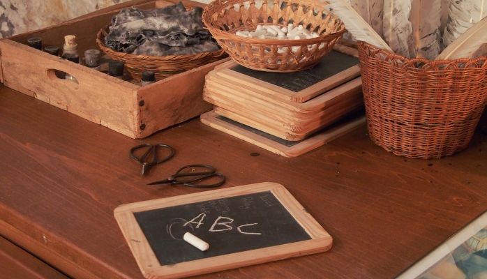 School Days offers well-documented, interactive and hands-on sampler of 18th century life in colonial Delaware