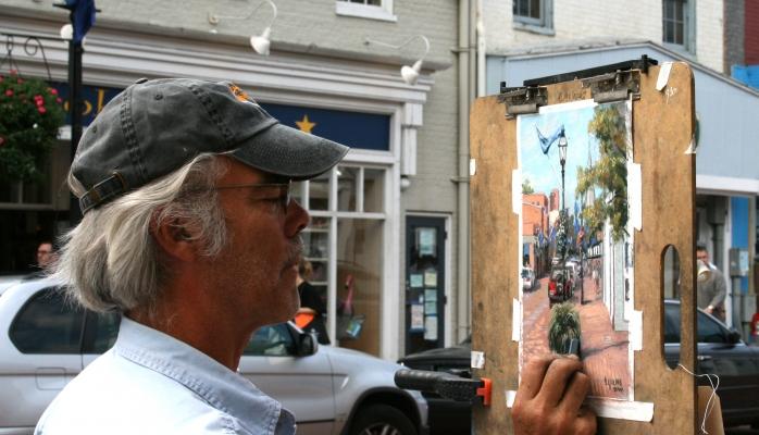 Dennis Young, Delaware Artist