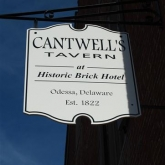 Cantwell's Tavern in the Brick Hotel