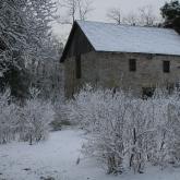 Historic Odessa in the Snow