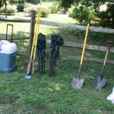 Tools & Test pits