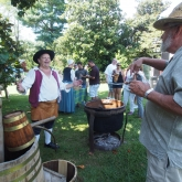 Historical Reenactor—Beer Brewing