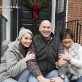 Hannah, Derek and Cristy