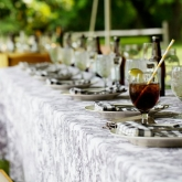 Historic Odessa table settings