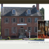 Catering services at Historic Odessa are provided exclusively by Cantwell's Tavern
