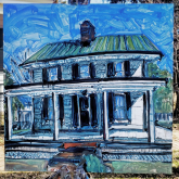 complete painting, houses of odessa