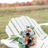 Historic Odessa fall wedding