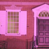 Corbit-Wilson House for Breast Cancer Awareness Month