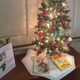 Storybook Trees exhibit at Corbit-Sharp House