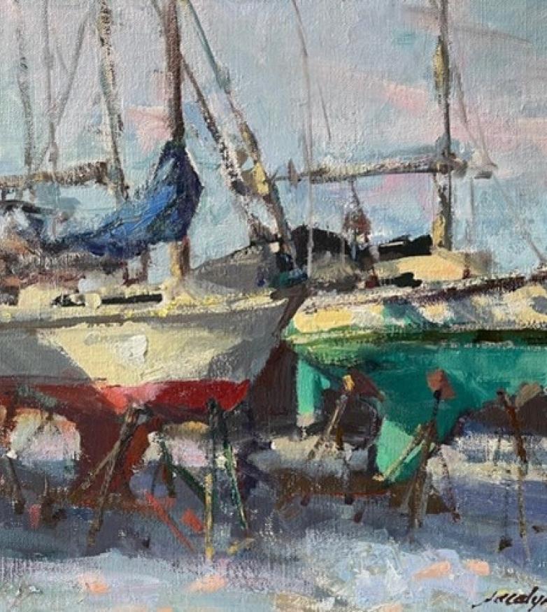 Jacalyn Beam Plein Air Paintings